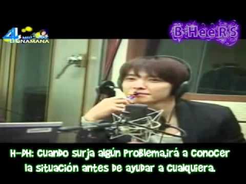 [Sub Esp] Donghae habla con su Hermano