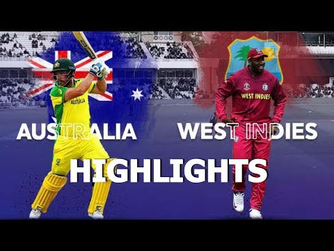 "Cricket World Cup 2019 Full Highlights ""Australia vs West Indies"" Full Match Highlights Today"