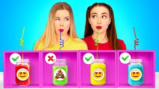 DON'T CHOOSE THE WRONG MYSTERY DRINK CHALLENGE || Last To Stop Wins! Funny Pranks By 123 GO! FOOD