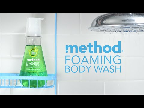 fear no mess with foaming body wash