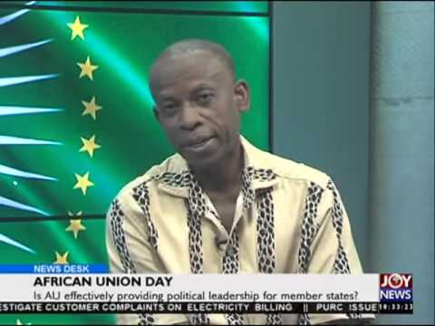 African Union day - News Desk on Joy News (25-5-16)