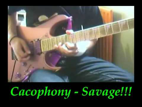 Cacophony - Savage (Leads)