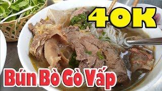 Việt Kiều về Gò Vấp Sài Gòn đi đâu ăn Bún Bắp Bò Ngon -Sạch?