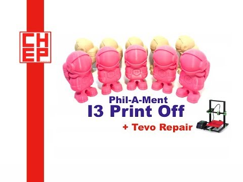 Tevo Tornado Fix & I3 3D Printer Phil A ment Print Off