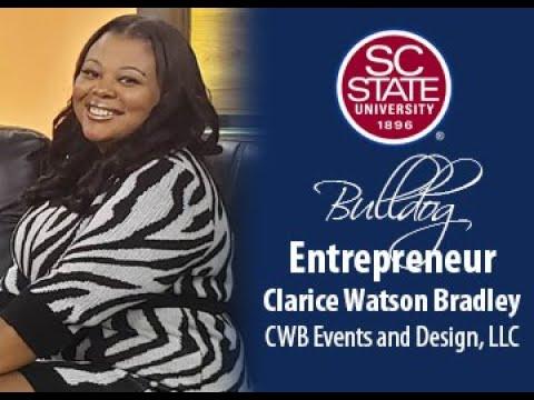 "SC State Celebrates ""Bulldog Entrepreneur�—Clarice Watson Bradley"