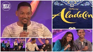 Hilarious Aladdin Press Conference in Full - Will Smith, Mena Massoud, Naomi Scott & Guy Ritchie