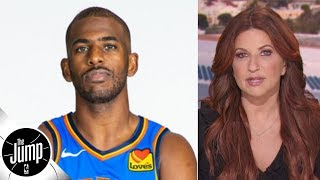 Chris Paul sees angles to being on the Thunder that other people don't - Rachel Nichols | The Jump