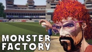Jim Johnman is playing baseball in Don Bradman Cricket 14 | Monster Factory