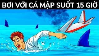 Một phi công đã sống sót sau tai nạn máy bay và 15 giờ giữa những con cá mập đói khát