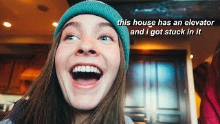 staying in a $5 million cabin | Marla Catherine