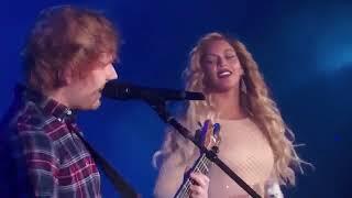 Ed Sheeran and Beyonce - Live Perfect Duet