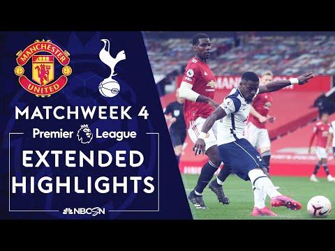Manchester United v. Tottenham | PREMIER LEAGUE HIGHLIGHTS | 10/4/2020 | NBC Sports