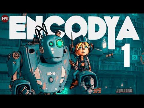 Encodya   Девочка и Робот   Полное прохождение на русском #1 (стрим)