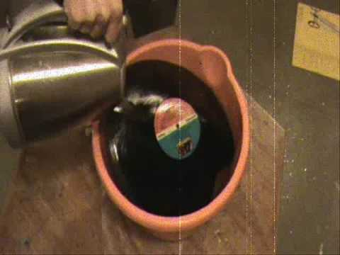 How To Make Your Own Record Vinyl Lp Bowl Bowls Youtube