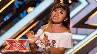 Alisah Bonaobra makes the Judges Listen with Beyoncé hit | Auditions Week 4 | The X Factor 2017