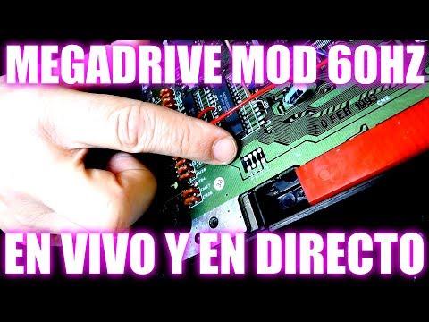 MEGADRIVE MOD 50/60HZ EN VIVO Y EN DIRECTO