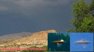 L'ufo fotografato a Cerro in New Messico in America