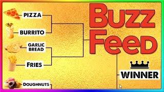 THE ULTIMATE FOOD BRACKET SHOWDOWN   BuzzFeed Funny Quizzes