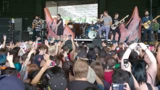 Dance Gavin Dance - Chucky vs The Giant Tortoise (Vans Warped Tour 2017, ATL)