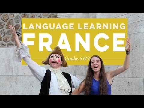 France Summer Language Program for High School Students