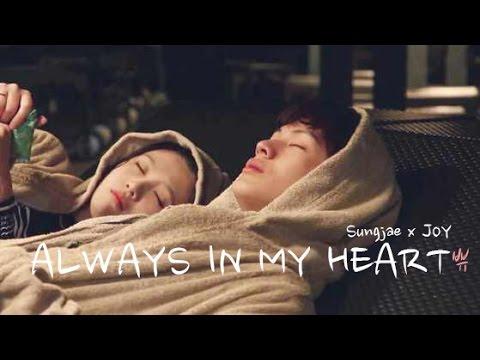 [FMV] 육성재(Sungjae) x (조이)JOY (Byu Couple 쀼) - Always In My Heart (MusicVideo)