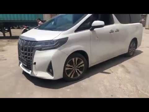 All New 2019 TOYOTA ALPHARD EXECUTIVE LOUNG SPEC WHITE COLOR REVIEW