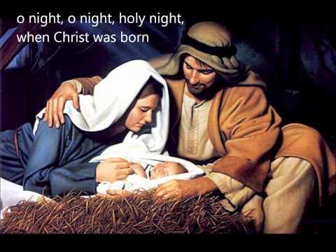 O Holy Night w/ lyrics - Glen Campbell