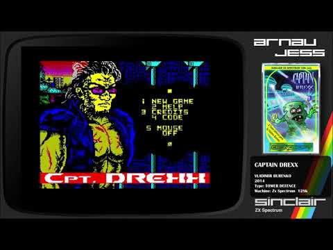 CAPTAIN DREXX  Zx  Spectrum by Vladimir Burenko