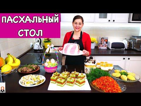 ПАСХАЛЬНОЕ МЕНЮ 2019 + Рецепт ЛУКОВОГО ХЛЕБА