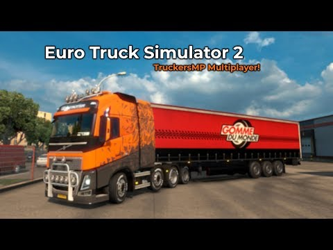 Euro Truck Simulator 2  TruckersMP Opname 10052018