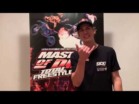 Masters of Dirt Total Freestyle Tour with Fabio Wibmer