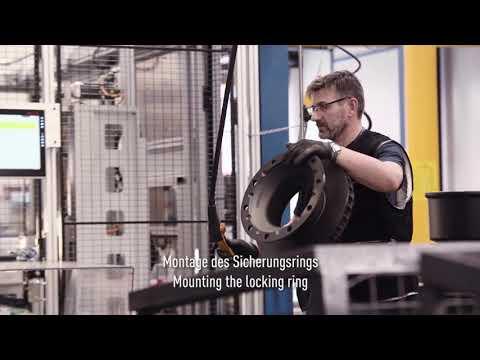 Einblicke in die BPW Produktion: Montage und Hochzeit Wheel End und Achskörper