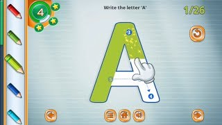 Learn letters ABC Alphabet With ABC phonics and ABC phonics for kids