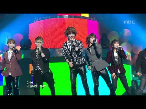 SHINee - Replay, 샤이니 - 누난 너무 예뻐, Music Core 20100220