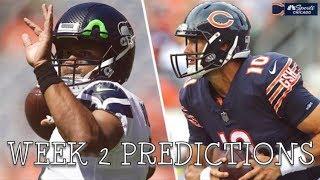 BEARS VS SEAHAWKS WEEK 2 PREDICTIONS
