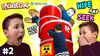 Let's Play ROBLOX #2: Hide and Seek Extreme w/ Mike (FGTEEV Xbox One Gameplay / Skit)
