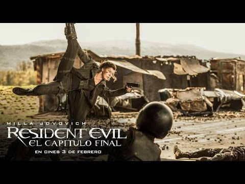RESIDENT EVIL: EL CAPÍTULO FINAL. Esta lucha está llegando a su fin. En cines 3 de febrero.