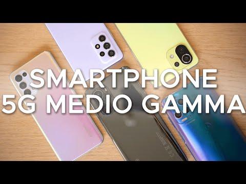 I migliori smartphone 5G di fascia media …