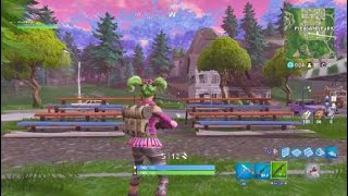 """Fortnite search between a Gas station, soccer pitch, ans stunt mountain"""" Location"""