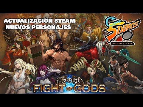 DIRECTO SEMANA SANTA: FIGHT OF GODS (ACTUALIZACIÓN EN STEAM)