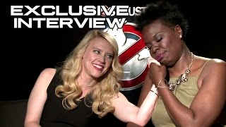 Kate McKinnon & Leslie Jones Exclusive GHOSTBUSTERS Interview (JoBlo.com)