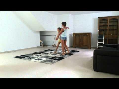 Chorégraphie de danse et gym (lost frequencies)