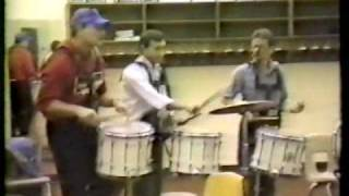 Spring Valley Alumni Band 1987 Rehearsal, Part 2