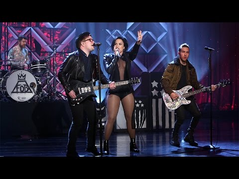 Demi Lovato & Fall Out Boy Perform'Irresistible'
