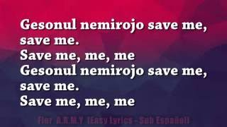 BTS - Save ME (Easy Lyrics)