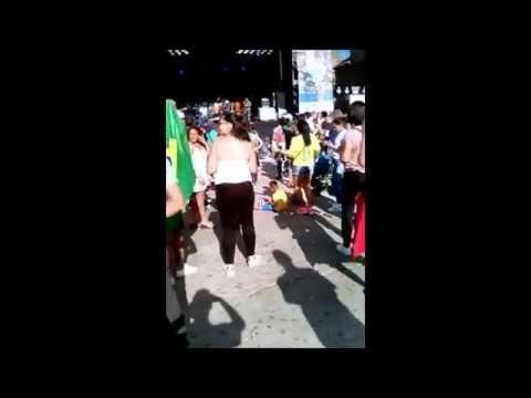Día de Brasil 2017 (Barcelona). Los vídeos con móvil