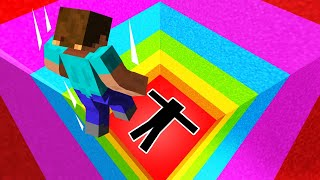 1% Of MINECRAFT PLAYERS Can FINISH This RAINBOW DROPPER...