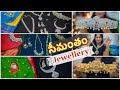 My Latest Silver, Gold, CZ Stone Jewellery ( నగలు ) Collection for my baby shower | Telugu Vlogs USA