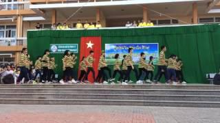 Flashmob Timber - Happy - La La La 12A2 THPT Phú Mỹ