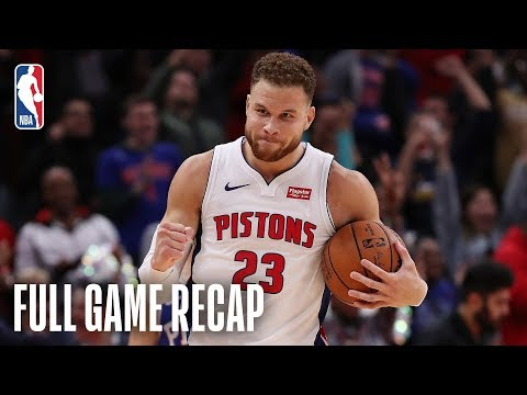 76ERS vs PISTONS   Blake Griffin Goes For A Career-High 50 Points   October 23, 2018